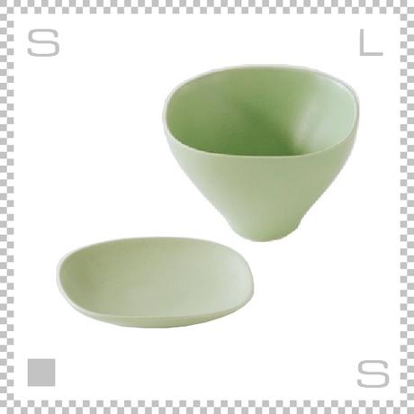 SAKUZAN サクザン SARA LOTUS サラロータス カップ&ソーサー ライトグリーン パステルカラー 日本製