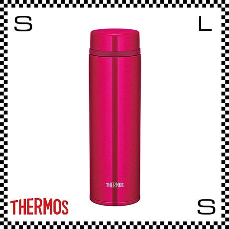 THERMOS サーモス 真空断熱ケータイマグ 480ml ストロベリーレッド Φ6.5/H21cm