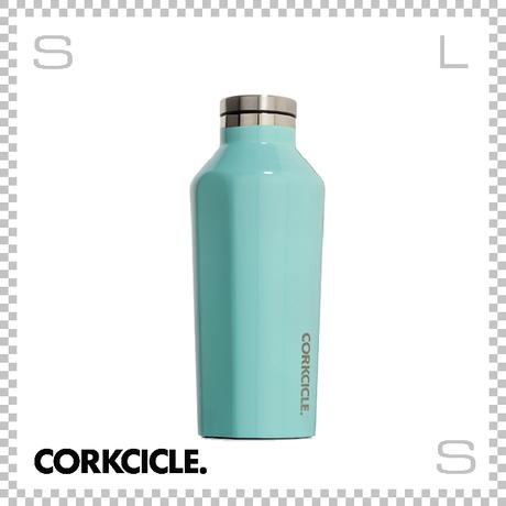 CORKCICLE CANTEEN コークシクル キャンティーン 9oz ターコイズ 2009GT ステンレス製 マグボトル 携帯ボトル