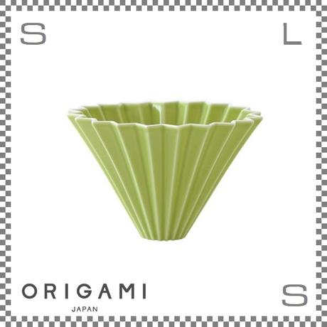 ORIGAMI オリガミ ドリッパー Mサイズ グリーン 2~4杯用 磁器製 ブリューワー 日本製