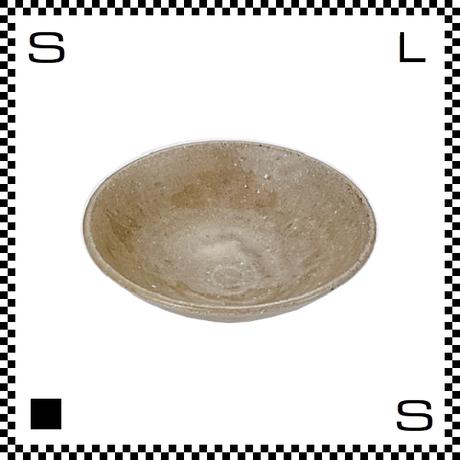 笠間焼 鈴木まるみ 小皿 緑灰/半 Φ12/H4cm(高台径:4cm) ハンドメイド プレート ラウンドプレート 日本製