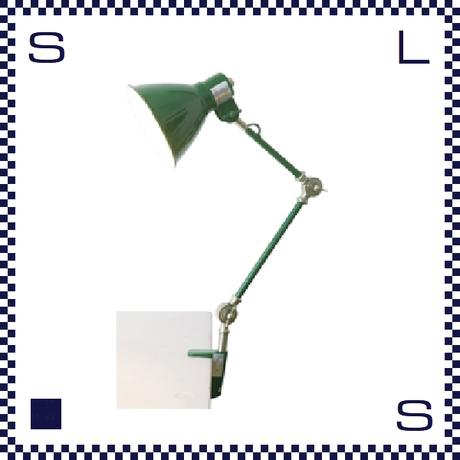 HERMOSA ハモサ INDUSTRY インダストリーデスクランプ グリーン クランプ型 デスクランプ インダストリアル