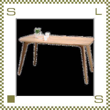 ダイニングテーブル シンプルナチュラル W150/D80/H72cm 北欧デザイン azu-cl817tna