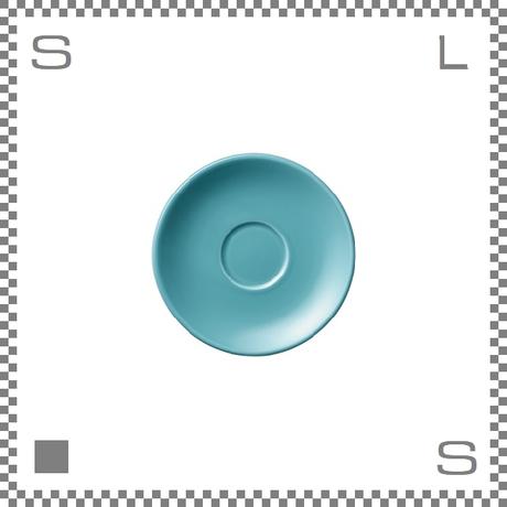 ORIGAMI オリガミ エスプレッソカップ用ソーサー ターコイズ Φ128mm デミタスカップ用ソーサー 日本製