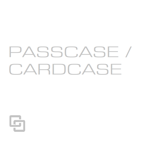 CATEGORY - PASSCASE / CARDCASE
