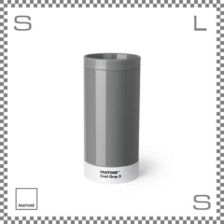 PANTONE パントン テイクアウトタンブラー グレー 430ml Φ75/H164mm ステンレスボトル 魔法瓶