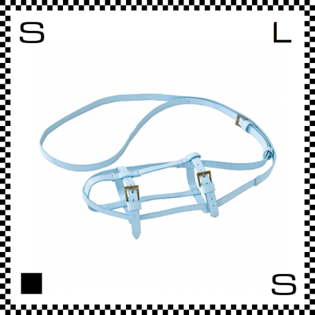 SPICE スパイス ボトルストラップ ブルー Φ70~90mm対応 ボトルホルダー 肩掛けストラップ サイズ調整可能 ptln1930-bl