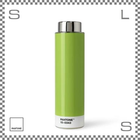 PANTONE パントン ドリンクボトル トライタン グリーン 500ml Φ62/H220mm ステンレスボトル 魔法瓶