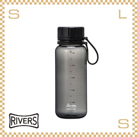 RIVERS リバーズ スタウトエア 550 ブラック 550ml W100/D71/H204mm ウォーターボトル スプラッシュガード付 トライタン使用