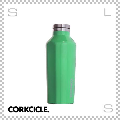CORKCICLE CANTEEN コークシクル キャンティーン 9oz カリビアングリーン 2009GCG ステンレス製 マグボトル 携帯ボトル