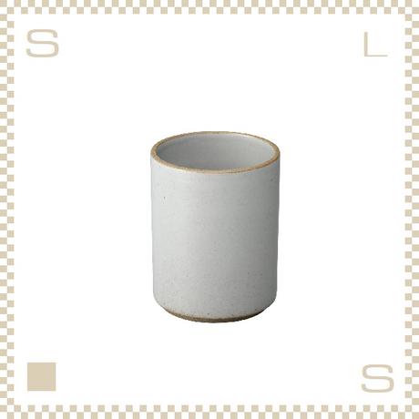 ハサミポーセリン タンブラー コンテナ クリア グロス Φ85/H106mm スタッキング可 HPM038 Hasami Porcelain