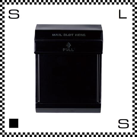 アートワークスタジオ メールボックス ダイヤル式 ブラック W283/D190/H380mm 壁付ポスト 鍵付き 郵便ポスト  TK-2079-BK