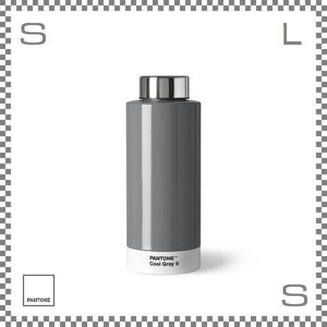PANTONE パントン ドリンクボトル スチール クールグレー 630ml Φ74/H190mm ステンレスボトル 魔法瓶