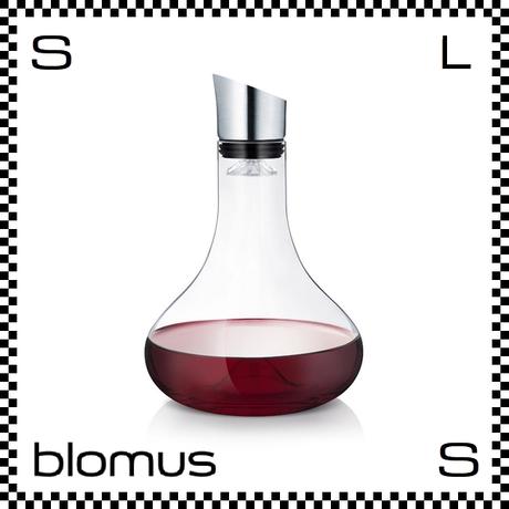 blomus ブロムス デキャンタ― ALPHA 1000ml カラフェ 漏斗付き blomus-63570
