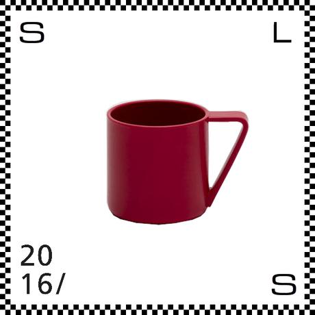2016/ Shigeki Fujishiro マグカップ レッド 300ml Φ78/W107/H78mm マグ コーヒー 有田焼 日本製
