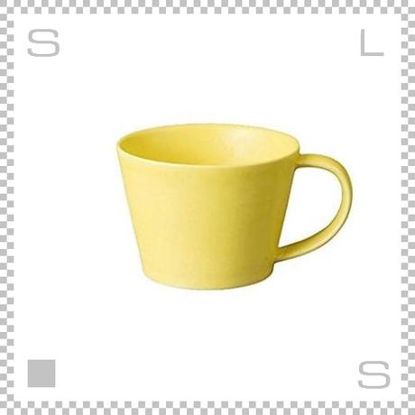SAKUZAN サクザン SARA サラ コーヒーカップ イエロー 190cc パステルカラー 日本製