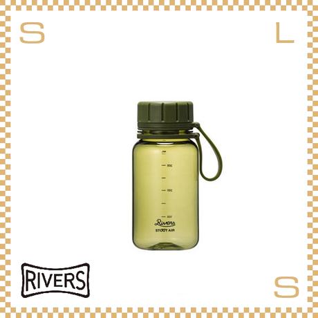RIVERS リバーズ スタウトエア 400 オリーブ 400ml W100/D71/H157mm ウォーターボトル スプラッシュガード付 トライタン使用