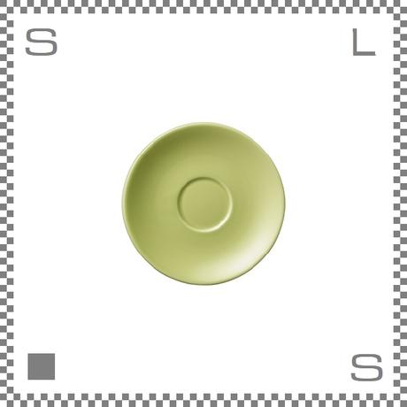 ORIGAMI オリガミ エスプレッソカップ用ソーサー グリーン Φ128mm デミタスカップ用ソーサー 日本製