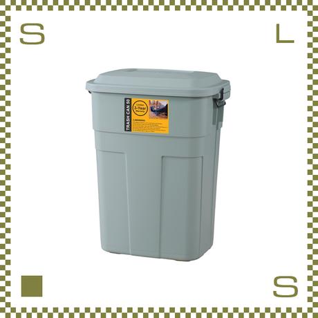 トラッシュカン 50L グリーン W45.5/D32/H57.6cm ペール ごみ箱 ゴミ箱 azu-lfs936gr