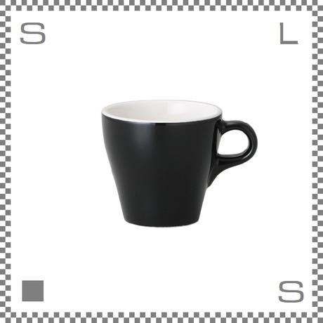 ORIGAMI オリガミ カプチーノカップ ブラック 6oz 180cc コーヒーカップ バリスタが設計 日本製