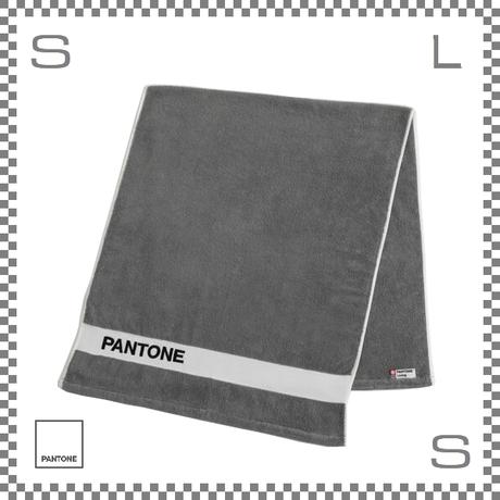PANTONE パントン バスタオル グレー 120×50cm コットン製 今治タオル製 日本製