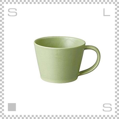 SAKUZAN サクザン SARA サラ コーヒーカップ モスグリーン 190cc パステルカラー 日本製