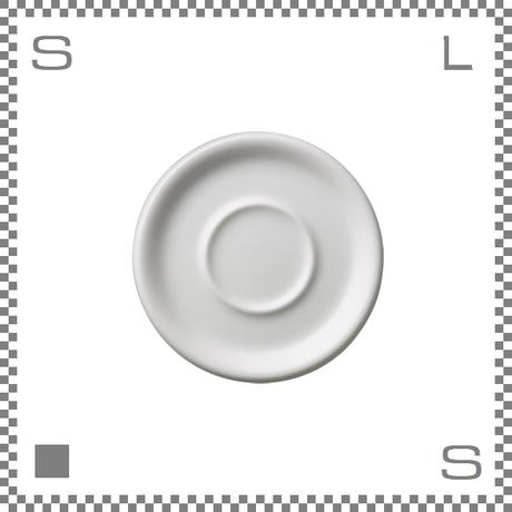 ORIGAMI オリガミ カプチーノカップ/ラテカップ兼用ソーサー ホワイト 6oz/8ozカップ兼用ソーサー Φ147mm 日本製
