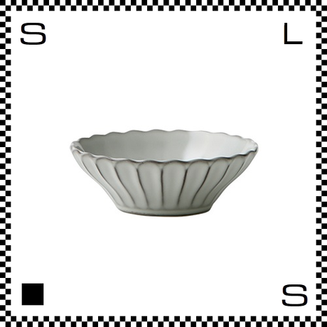 風雅 ふうが 浅ボウル 12.5cm 月白 ホワイト Φ127/H40mm 小鉢 ボウル レトロカラー 日本製