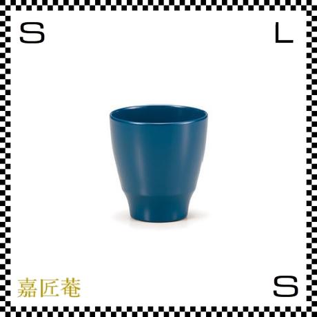 十色のぐい呑み カップ 青 ブルー Φ6.7/H6.9cm 漆カップ 漆塗装 ちょこ フリーカップ 小鉢 日本製