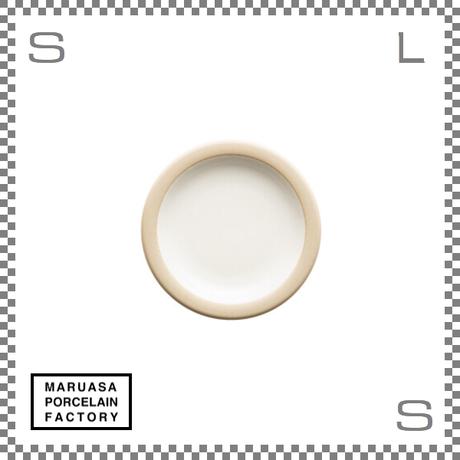丸朝製陶所 %PORCELAINS ポーセリンズ プレート SSサイズ マットホワイト Φ131/H20mm 日本製