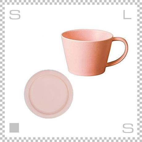 SAKUZAN サクザン SARA サラ コーヒーカップ&ソーサー ピンク パステルカラー 日本製