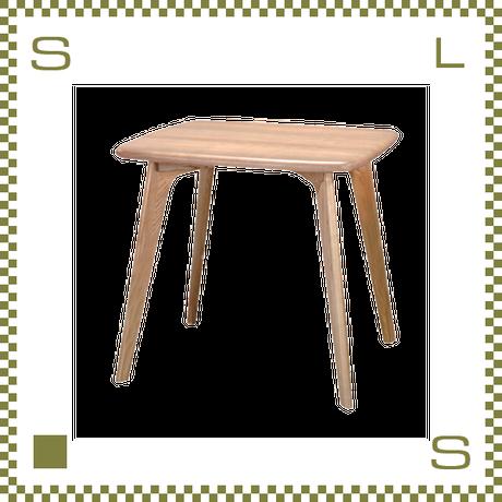 ダイニングテーブル シンプルナチュラル コンパクト W80/D70/H72cm 北欧デザイン azu-cl816tna