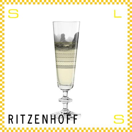 RITZENHOFF リッツェンホフ シャンパングラス 100ml チャイニーズ ネリ&フー Φ60/H210mm フルートグラス 中国風景 ギフト  ritz-3520004