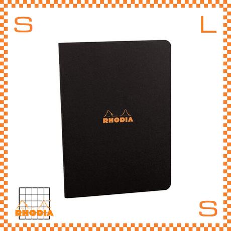 ROHDIA ロディア ノート ステイプルドノートブック A5 方眼 ブラック 5冊セット 7.5×12cm 96P フランス製