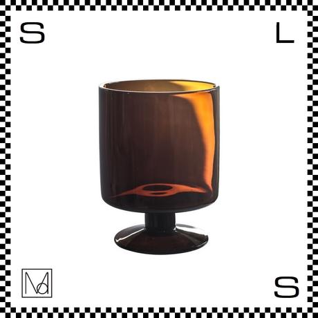 Manses Design モンセスデザイン ワイングラス アンバー 300ml Φ80/H105mm グラス スウェーデン