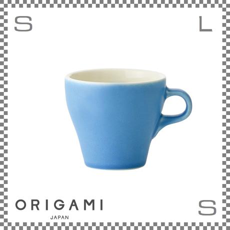 ORIGAMI オリガミ ラテカップ マットブルー 8oz Φ90/W112/H81mm 250cc コーヒーカップ バリスタが設計 日本製