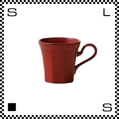 Coline コリーヌ コーヒーカップ スカーレット レッド Φ82/W115/H81mm 200cc オクタゴン 八角形 クラシックデザイン 日本製