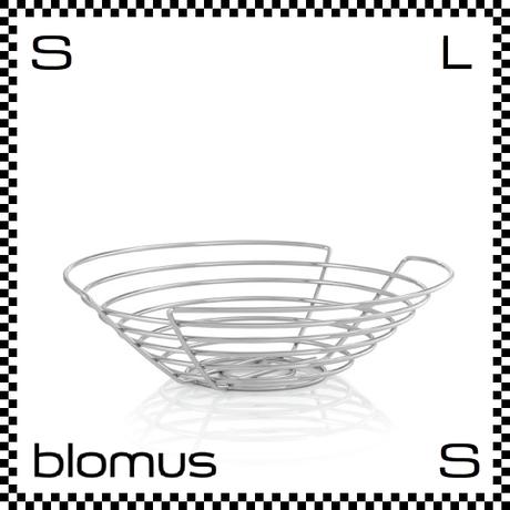 blomus ブロムス WIRES ワイヤーバスケット Φ36cm フラットタイプ フルーツバスケット バスケット blomus-68481