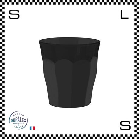 DURALEX デュラレックス depuis1945 ピカルディソフトタッチ ブラック 250cc 2個セット Φ86/H90mm グラス タンブラー フランス製