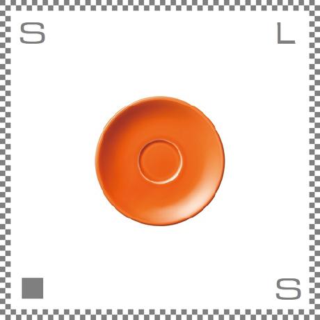 ORIGAMI オリガミ エスプレッソカップ用ソーサー オレンジ Φ128mm デミタスカップ用ソーサー 日本製