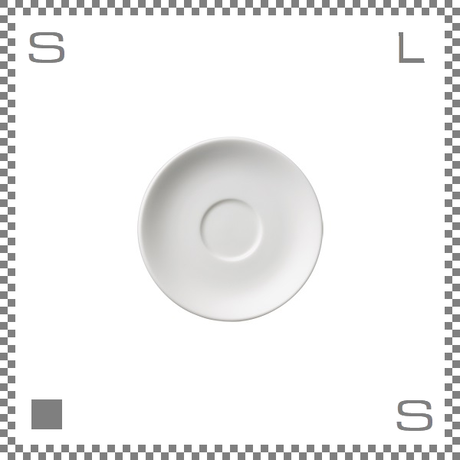 ORIGAMI オリガミ エスプレッソカップ用ソーサー ホワイト Φ128mm デミタスカップ用ソーサー 日本製