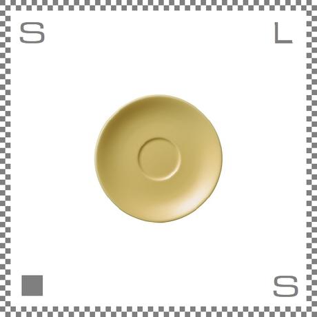 ORIGAMI オリガミ エスプレッソカップ用ソーサー イエロー Φ128mm デミタスカップ用ソーサー 日本製