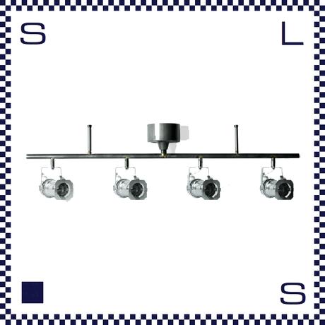 HERMOSA ハモサ STUDIO4 スタジオ4 シルバー シーリングランプ スポットライト型 4灯ランプ シーリングライト