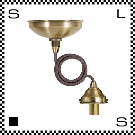 アートワークスタジオ ベーシックペンダント ゴールド コード:875mm スイッチ別売 電球別売 ソケットコード E17 AW-0426-GD (※)