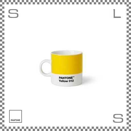 PANTONE パントン エスプレッソカップ イエロー 120ml Φ62/W86/H61.5mm デミタスカップ