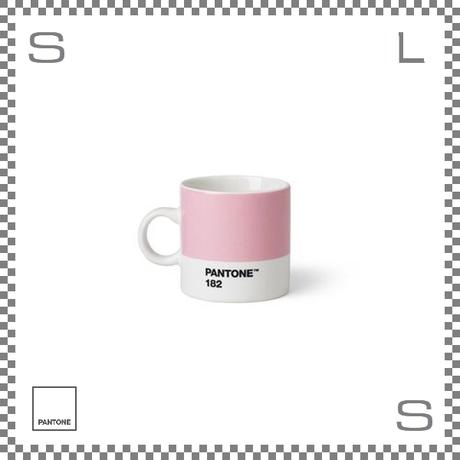 PANTONE パントン エスプレッソカップ ライトピンク 120ml Φ62/W86/H61.5mm デミタスカップ