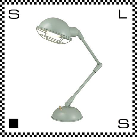 アートワークスタジオ Bronx ブロンクスデスクランプ グリーン 電球付 アーム:450mm レトロアメリカンスタイル 2段アーム 鋳物 AW-0348V-GN