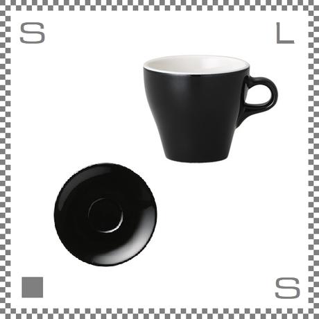 ORIGAMI オリガミ エスプレッソカップ&ソーサー ブラック 3oz 90cc デミタスカップ&ソーサー バリスタが設計 日本製