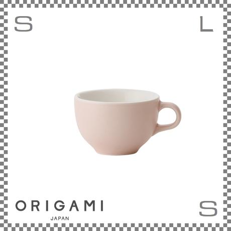 ORIGAMI オリガミ ラテボウル マットピンク 6oz Φ90/W113/H60mm 180cc コーヒーカップ バリスタが設計 日本製