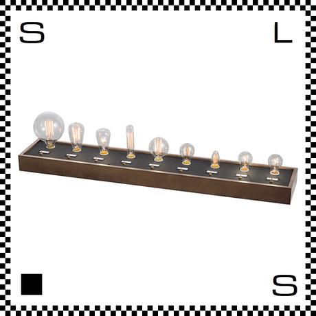 アートワークスタジオ ライトバルブディスプレイボード 9灯 店舗用ディスプレイボード スタンドライト 電球は付属しません  BU-1002